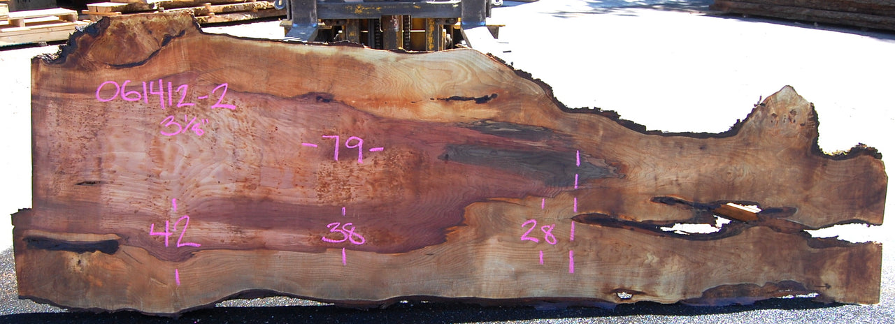Big Leaf Maple Slab 061412-02