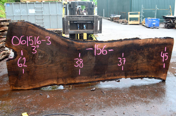 Oregon Black Walnut Slab 061516-03