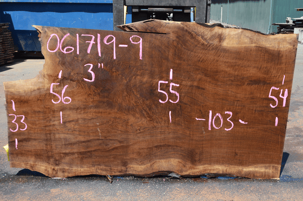 061719-09 Oregon Black Walnut Slab