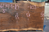 061719-10 Oregon Black Walnut Slab