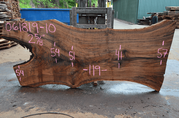 061819-10 Oregon Black Walnut Slab