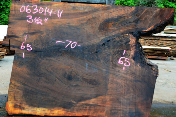 Oregon Black Walnut Slab 063014-11