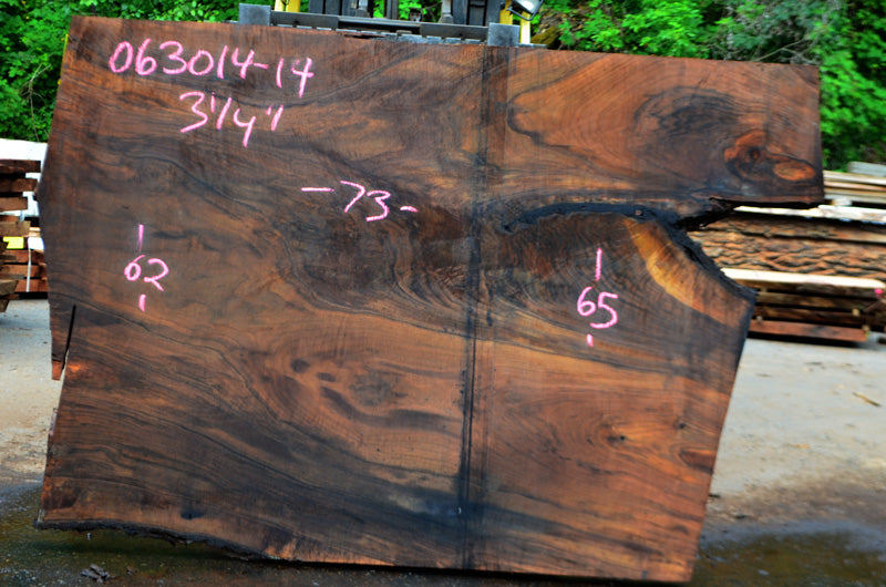 Oregon Black Walnut Slab 063014-14