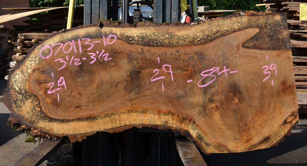 Oregon White Oak Slab 070113-10