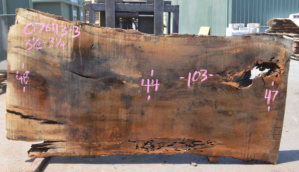 Oregon White Oak Slab 070113-03
