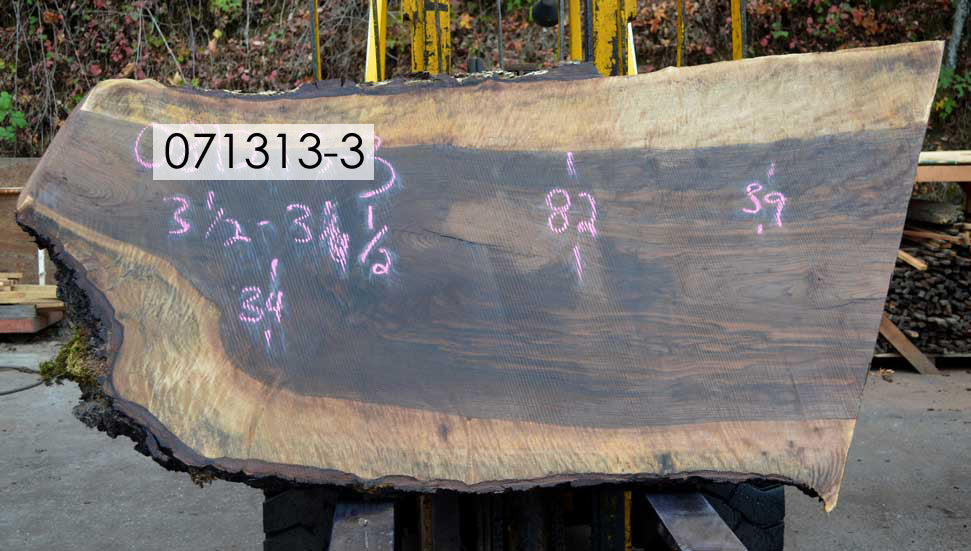 Bastogne Walnut Slab 071313-03