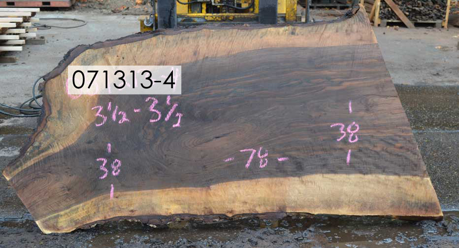 Bastogne Walnut Slab 071313-04