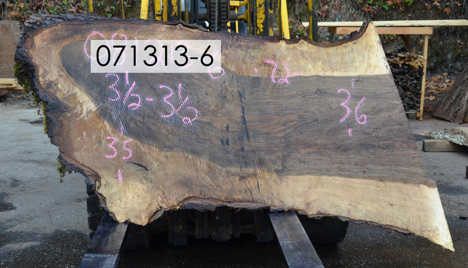 Bastogne Walnut Slab 071313-06
