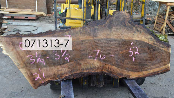 Bastogne Walnut Slab 071313-07