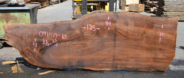 Oregon Black Walnut Slab 071513-10