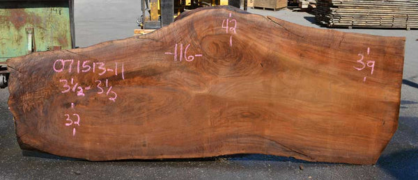 Oregon Black Walnut Slab 071513-11