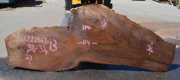 Oregon Black Walnut Slab 071513-13