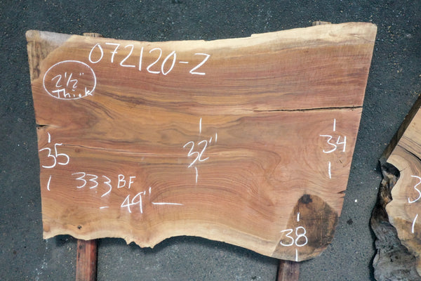 Oregon Black Walnut Slab 072120-2