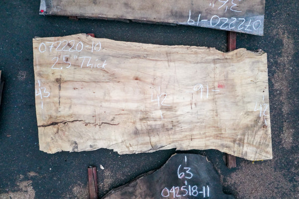 Big Leaf Maple Slab 072220-10