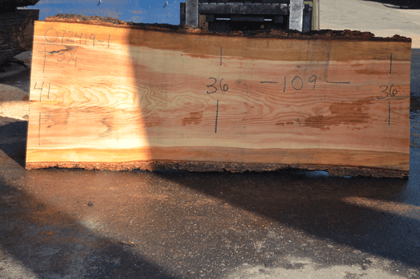 072419-01 Oregon Fir Slab