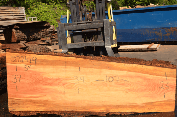 072419-02 Oregon Fir Slab
