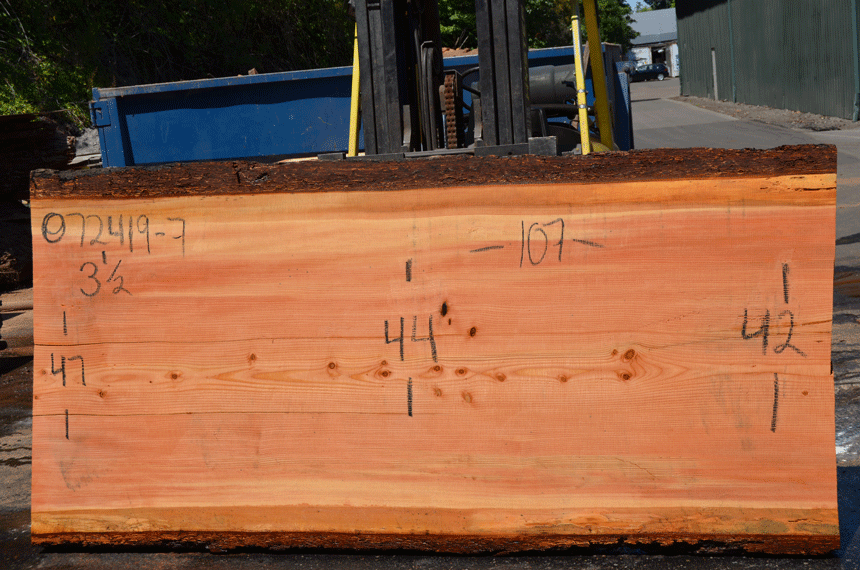 072419-07 Oregon Fir Slab