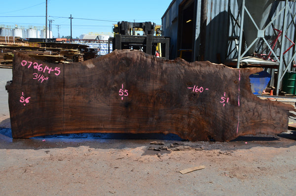Oregon Black Walnut Slab 072614-05