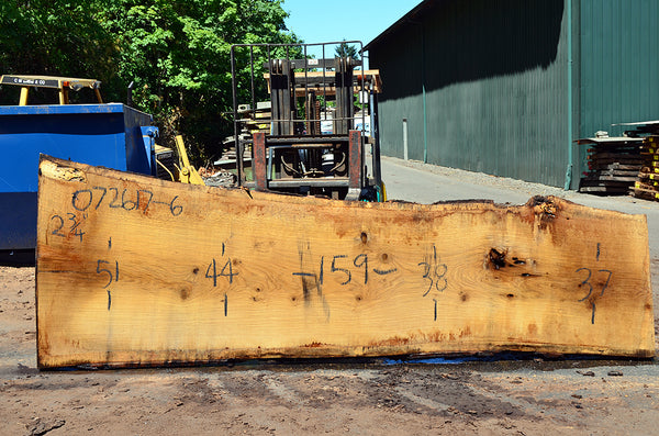 Oregon White Oak Slab 072617-06