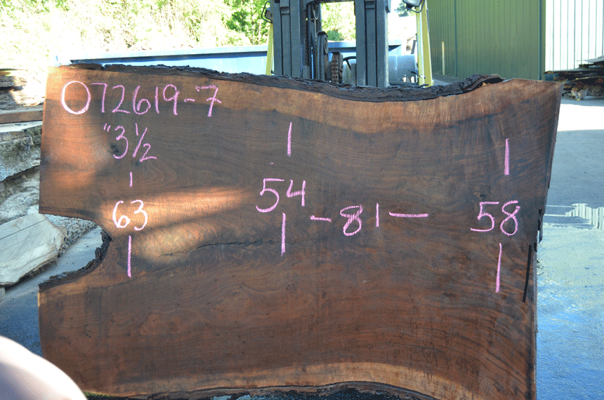 072619-07 Oregon Black Walnut