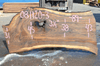 Oregon Black Walnut Slab 081120-03
