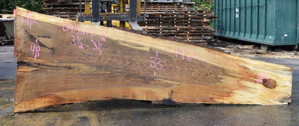 Oregon White Oak Slab 090213-12
