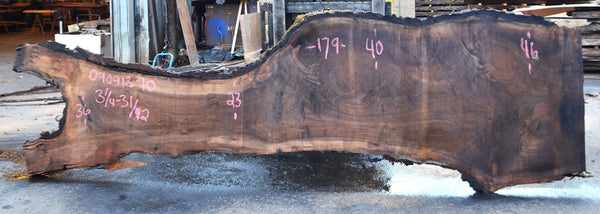 Oregon Black Walnut Slab 090913-10
