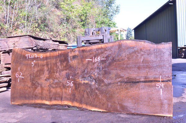092617-06 Oregon Black Walnut Slab