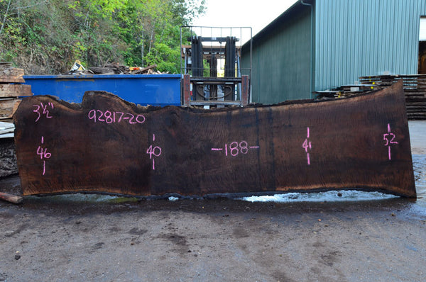 Oregon Black Walnut Slab 092817-20