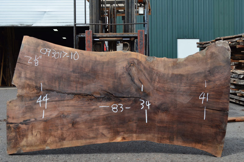 Oregon Black Walnut Slab 093017-10