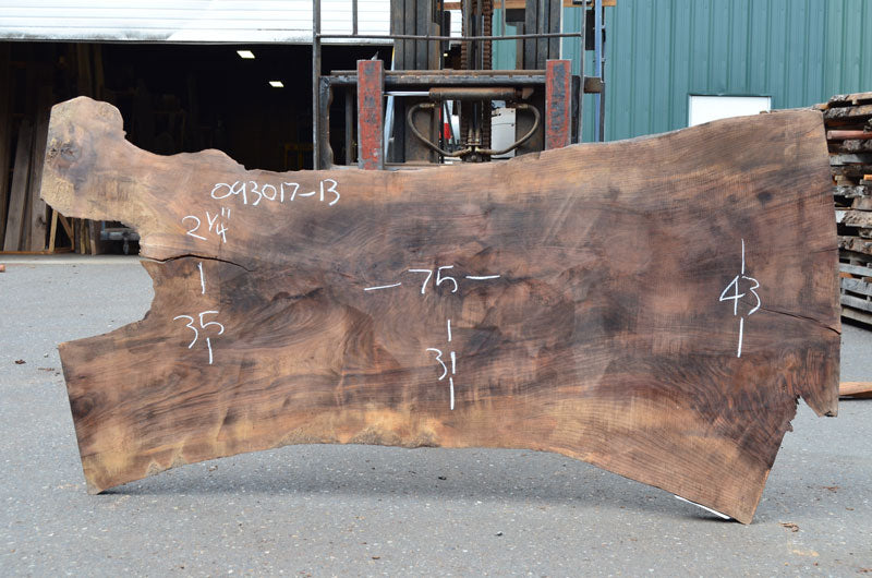 Oregon Black Walnut Slab 093017-13