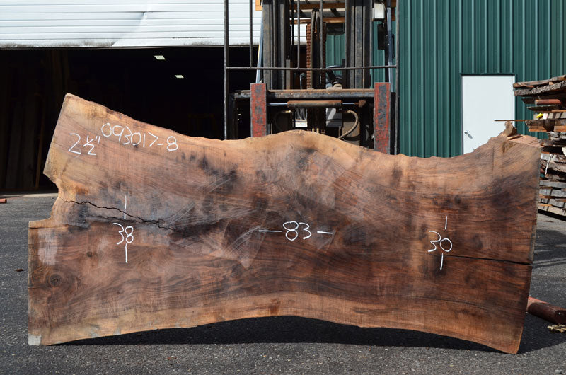 Oregon Black Walnut Slab 093017-08