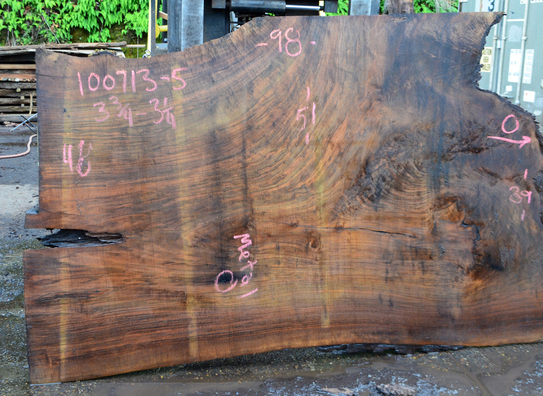 Oregon Black Walnut Slab 100713-05