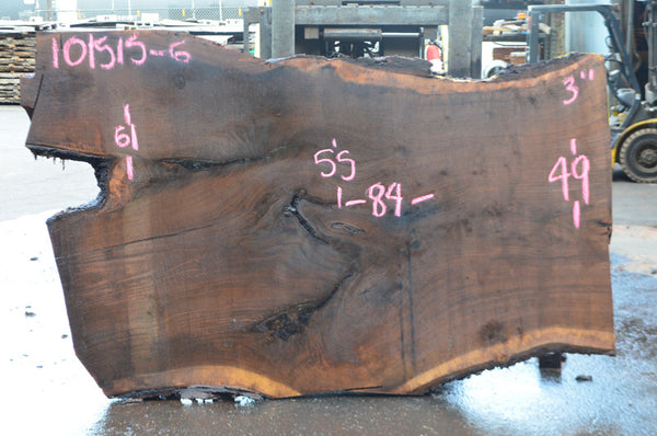 Oregon Black Walnut Slab 101515-06