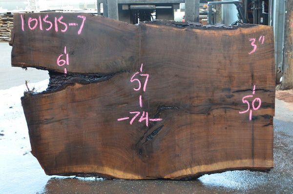 Oregon Black Walnut Slab 101515-07