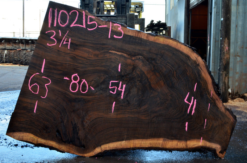 Oregon Black Walnut Slab 110215-13