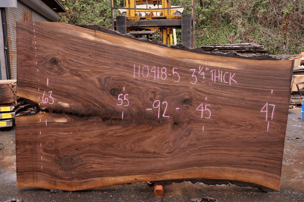 110418-05 Oregon Black Walnut Slab