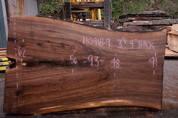 110418-09 Oregon Black Walnut Slab