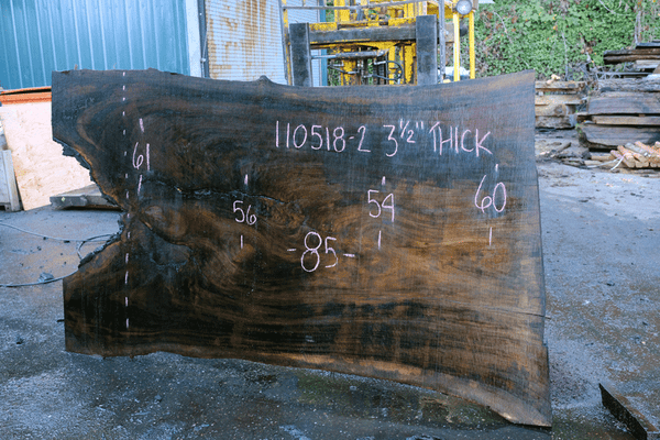 110518-02 Oregon Black Walnut Slab