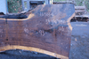111518-04 Oregon Black Walnut Slab