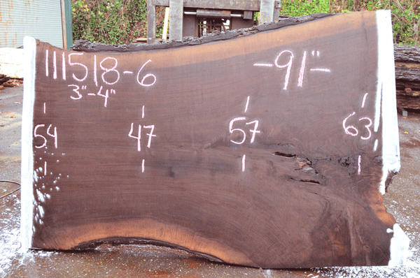 111518-06 Oregon Black Walnut Slab