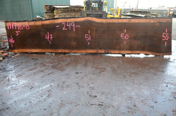 Oregon Black Walnut Slab 111716-08