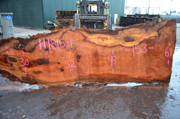 Oregon Redwood Slab 111816-01