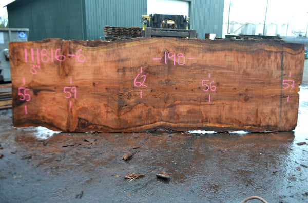 Oregon Redwood Slab 111816-06