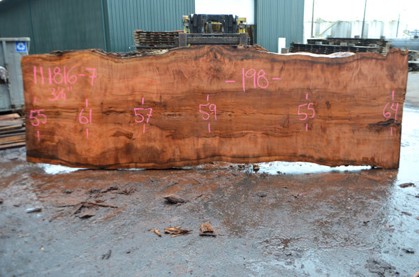 Oregon Redwood Slab 111816-07