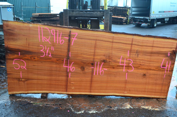Oregon Cedar Slab 112916-07