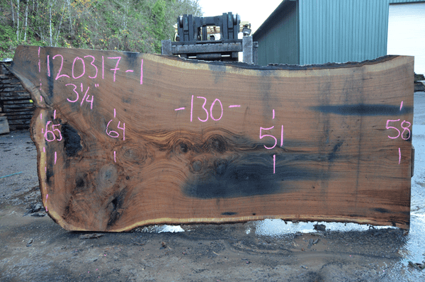 Oregon Red Oak Slab 120317-01