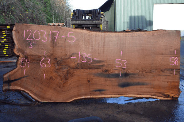 Oregon Red Oak Slab 120317-05