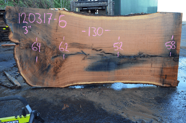 Oregon Red Oak Slab 120317-06