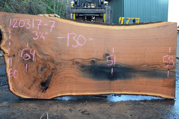 Oregon Red Oak Slab 120317-07